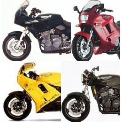 Triumph 900 Daytona / Speed Triple / Trophy et Sprint
