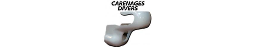 Notre sélection de carénages divers ou universels, par dimensions, pour moto vintage...