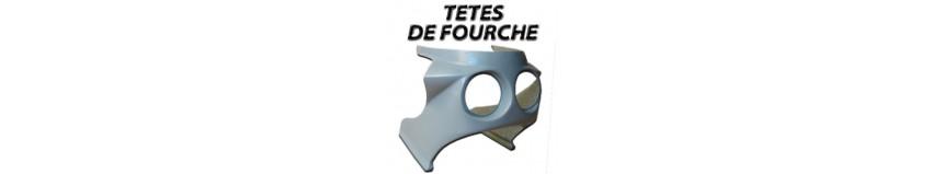 Notre sélection de têtes de fourche divers ou universelles, par dimensions, pour moto vintage, GT, réplica