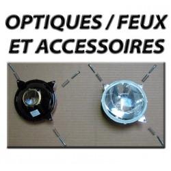 Optiques / Feux et accessoires