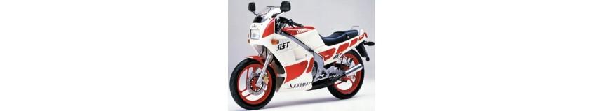 Carénages en polyester pour Yamaha 125 TZR de 1989 à 1992, carénage en 3 parties, coque arrière