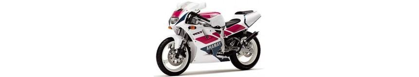 Carénages en polyester pour Yamaha 125 TZR / R de 1992 à 1993 Version Italienne, carénage en 2 parties