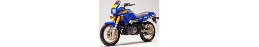 Carénages en polyester pour Yamaha 250 TDR, tête de fourche avec flancs de radiateur en 3 parties