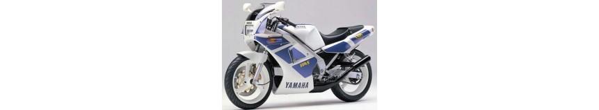 Carénages en polyester pour Yamaha 250 TZR de 1988 à 1991, tête de fourche + 2 flancs, coque arrière monoplace