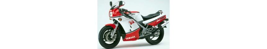 Carénages en polyester pour Yamaha 500 RDLC, carénage en 4 parties pour phare rectangulaire