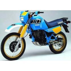 Yamaha 600 Ténéré de 1983 à 1987