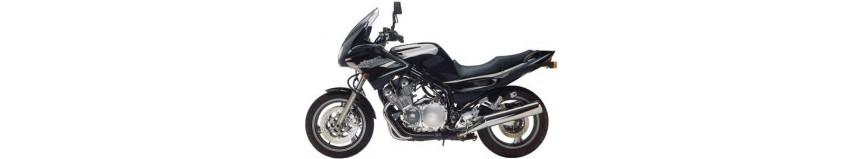 Carénages en polyester pour Yamaha XJ 600 Diversion de 1996 à 2004, tête de fourche, garde boue avant