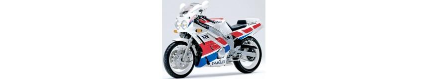 Carénages en polyester pour Yamaha 600 FZR de 1989 à 1990, carénage en 3 parties double optiques