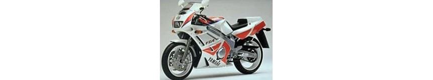 Carénages en polyester pour Yamaha 600 FZR de 1991 à 1993, carénage en 3 parties, garde boue avant