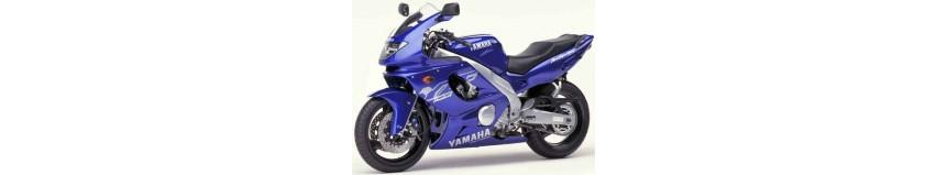 Carénages en polyester pour Yamaha 600 YZF Thundercat de 1996 à 2003, carénage en 2 parties, fermé pour la piste