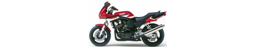 Carénages en polyester pour Yamaha 600 Fazer de 1998 à 2001, tête de fourche coupe origine, version enveloppante