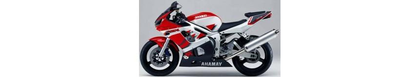 Carénages en polyester pour Yamaha R6 de 2003 à 2005, carénage en 2 parties, fermé pour la piste