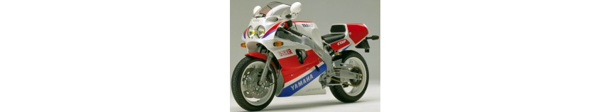 Carénages en polyester pour Yamaha 750 FZRR de 1989, carénage en 2 parties, sabot fermé pour la piste