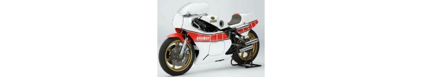 Carénages en polyester pour Yamaha 750 OW 31, carénage en 2 parties, coque arrière selle monoplace