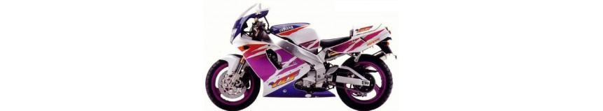 Carénages en polyester pour Yamaha 750 YZF 1993 à 1994 (modèle avec radiateur droit), carénage en 2 parties
