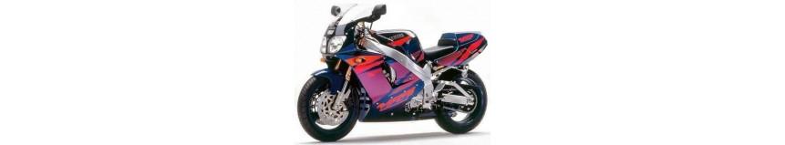 Carénages en polyester pour Yamaha 750 YZF 1995 à 1998 (modèle avec radiateur incurvé), carénage en 2 parties