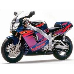 Yamaha 750 YZF 1995 à 1998 (modèle avec radiateur incurvé)