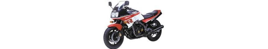 Carénages en polyester pour Yamaha 750 FZ de 1986 à 1994, carénage intégral en 2 parties avec ou sans découpe