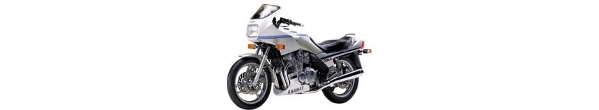 Carénages en polyester pour Yamaha XJ 600 / 650 / 900 (phare rectangulaire), tête de fourche coupe origine