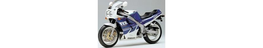 Carénages en polyester pour Yamaha 1000 FZR Genesis de 1987 à 1988, carénage en 3 parties coupe origine