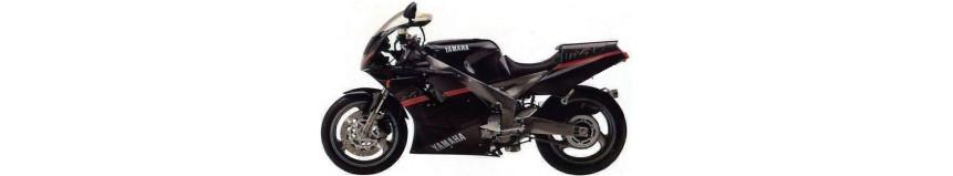 Carénages en polyester pour Yamaha 1000 FZR Exup de 1989 à 1990, carénage en 3 parties coupe origine