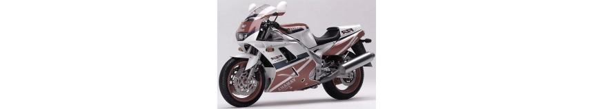 Carénages en polyester pour Yamaha 1000 FZR Exup de 1991 à 1993, carénage en 3 parties coupe origine
