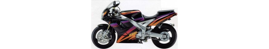 Carénages en polyester pour Yamaha 1000 FZR Exup de 1994 à 1995, carénage en 3 parties coupe origine