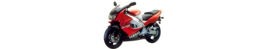 Carénages en polyester pour Yamaha 1000 YZF Thunderace de 1996 à 2003, carénage en 4 parties coupe origine