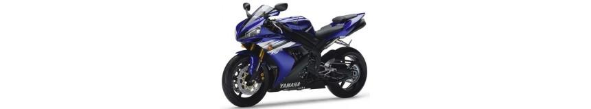 Carénages en polyester pour Yamaha 1000 R1 de 2004 à 2006, carénage en 2 parties, fermé dessous pour la compétition