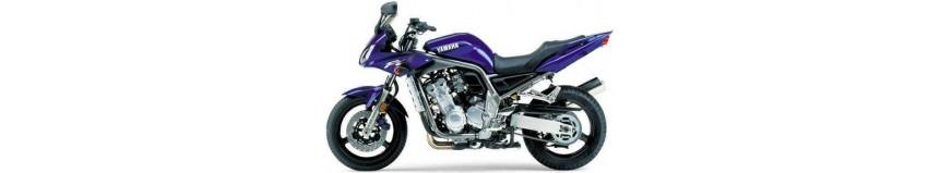 Carénages en polyester pour Yamaha 1000 Fazer de 2001 à 2005, tête de fourche, bas de carénage, sabot moteur