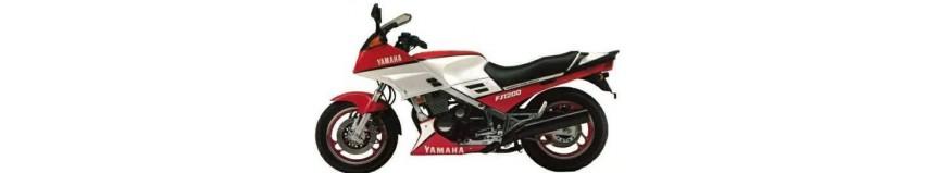 Carénages pour Yamaha FJ 1200 de 1986 à 1987, tête de fourche pour optique origine ou modèle double optiques