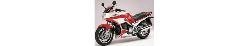 Carénages pour Yamaha FJ 1200 de 1988 à 1990, tête de fourche pour optique origine ou modèle double optiques