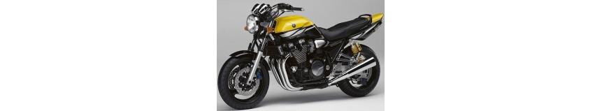 Carénages pour Yamaha 1200 et 1300 XJR de 1995 à 2014, sabot moteur, garde boue avant coupe origine ou racing