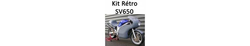 """Transformer votre Suzuki SV 650 de 1999 à 2002, en machine """"Rétro Vint"""