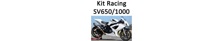 Transformer votre SV 650 ou 1000 en version Racing look GSXR, carénage