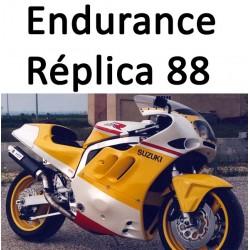 GSXR Suzuki Endurance Réplica 1988 1989
