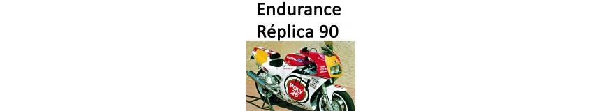 Transformer votre Suzuki GSXR 750 1990 en Endurance Réplica 1990, caré