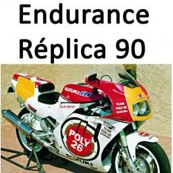 GSXR Suzuki Endurance Réplica 1990