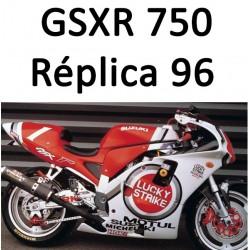 GSXR Suzuki Réplica 1996