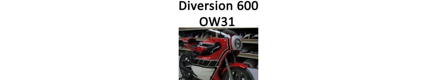 Transformer votre Yamaha Diversion 600 1993 à 1995 en Réplica OW31, ca