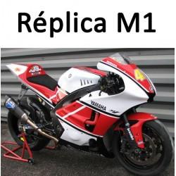 M1 Yamaha Yamaha Réplica sur R6 2006 à 2007 et R1 2009 à 2014