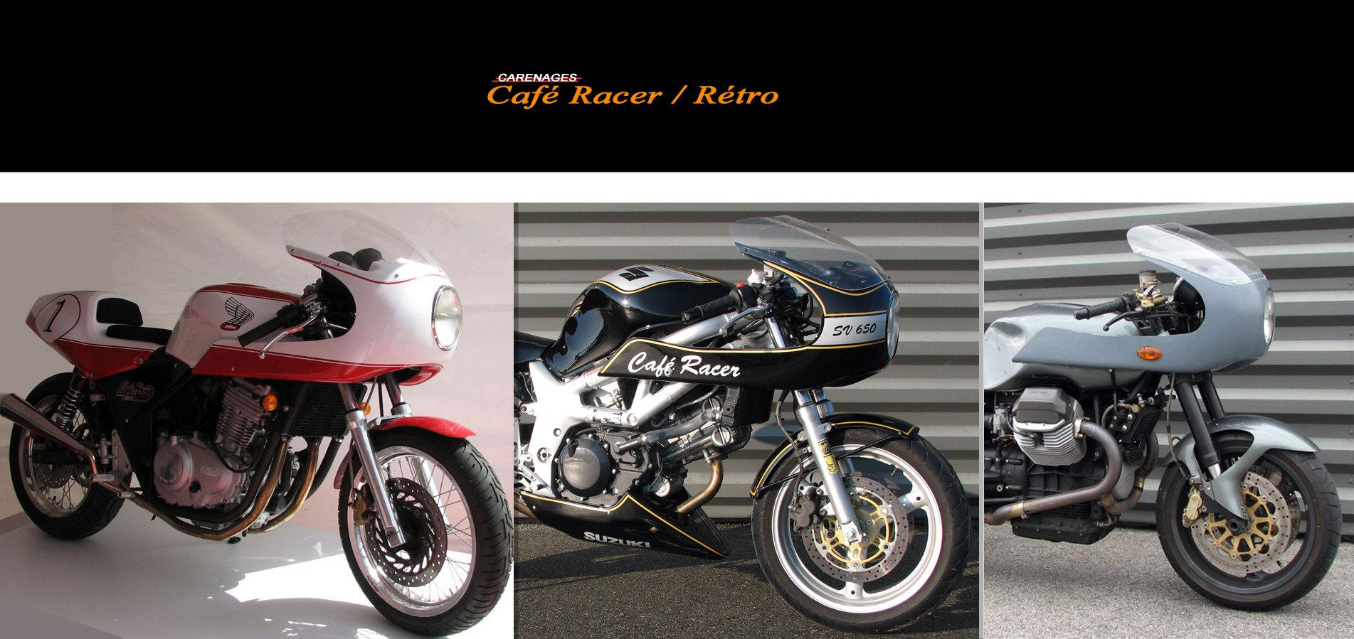 Carenage Double Optique Cafe Racer Bmw